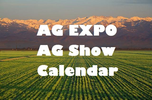 Farm Show Calendar