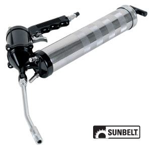 LUMAX Heavy-Duty, Fully Automatic, Continuous Cycle, Air Operated Grease Gun